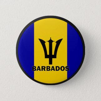 Barbados Roundel quality Flag Button