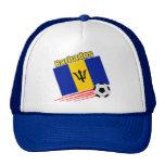 Barbados Soccer Team Trucker Hat