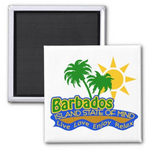 Barbados State of Mind magnet