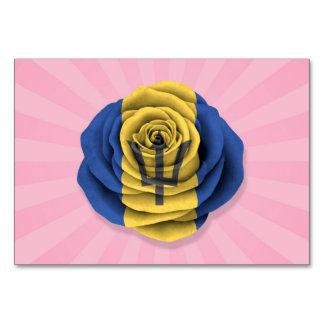 Barbados subió la bandera en rosa
