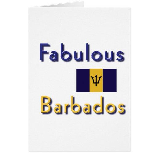 Barbados Tarjeta De Felicitación
