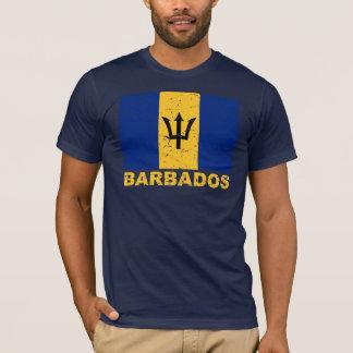 Barbados Vintage Flag T-Shirt