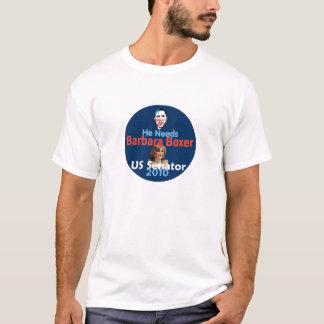Barbara BOXER 2010 Senate California T-Shirt Shirt