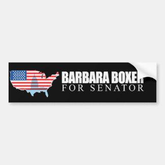 Barbara Boxer for Senator 2010 Bumper Sticker