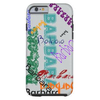 Barbara Case iPhone Name Case