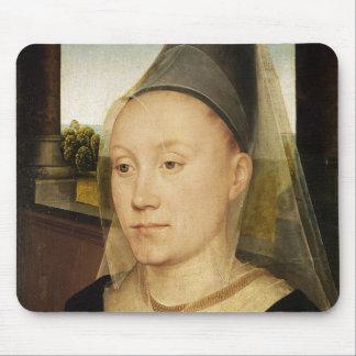 Barbara de Vlaenderberch, c.1472-75 Mouse Pad