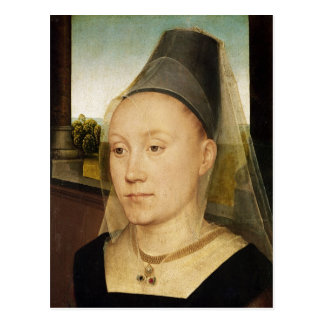 Barbara de Vlaenderberch, c.1472-75 Postcard