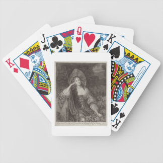 Barbara Duchess of Cleaveland (1641-1709) as a She Bicycle Playing Cards