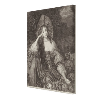 Barbara Duchess of Cleaveland (1641-1709) as a She Stretched Canvas Print