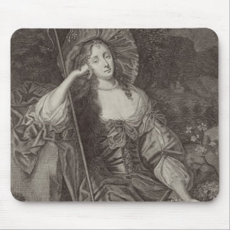 Barbara Duchess of Cleaveland (1641-1709) as a She Mouse Pad