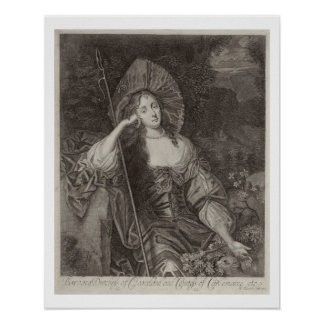 Barbara Duchess of Cleaveland (1641-1709) as a She Poster