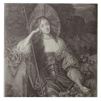 Barbara Duchess of Cleaveland (1641-1709) as a She Ceramic Tiles