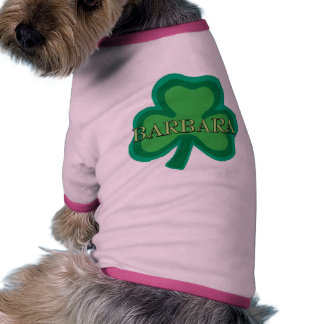 Barbara Irish Name Dog Tee