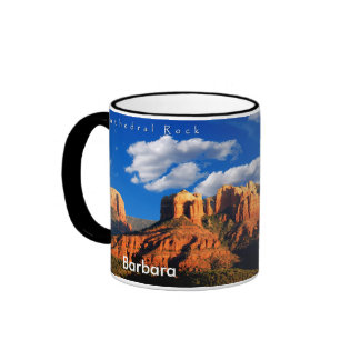 Barbara  on Cathedral Rock and Courthouse Mug