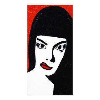 Barbara photo card