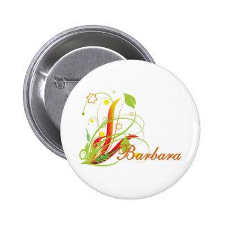 Barbara Pinback Button