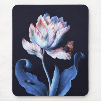 Barbara Regina Dietzsch: Parrot Tulip Mouse Pad