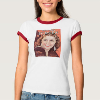 Barbara Stanwyck 1932 movie magazine cover color T-Shirt