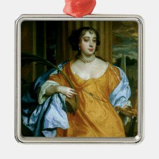 Barbara Villiers Duchess of Cleveland Metal Ornament
