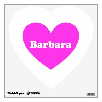 Barbara Wall Decal