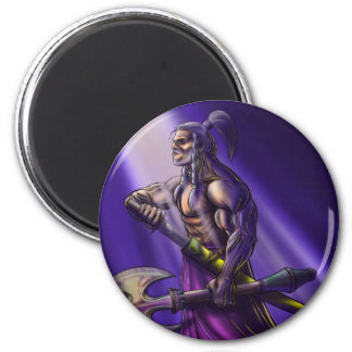 Barbarian 2 Inch Round Magnet