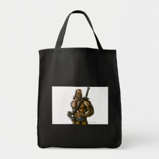 Barbarian 2a Color Tote Bags