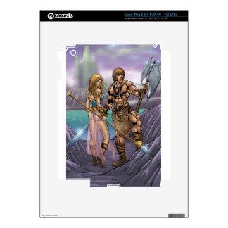 Barbarian Art iPad 3 Skin