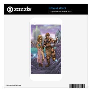 Barbarian Art iPhone 4S Skin