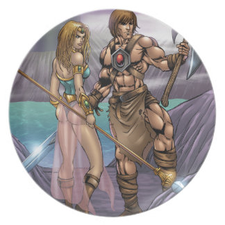 Barbarian Art Plate