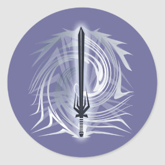 Barbarian Classic Round Sticker