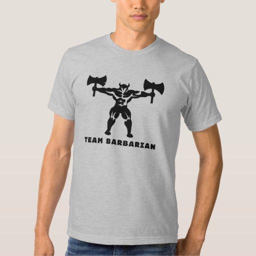 Barbarian Form Fitting T Shirt Zazzle