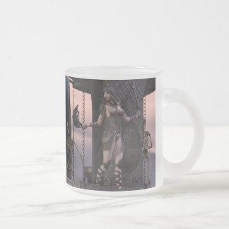 Barbarian Girl Aliya Coffee Mugs