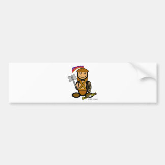 Barbarian (with logos) bumper stickers