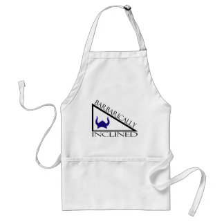 Barbarically Inclined Adult Apron