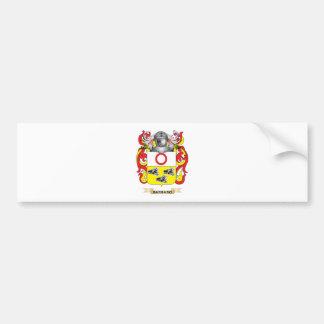 Barbaro Coat of Arms (Family Crest) Bumper Sticker
