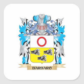 Barbaro Coat of Arms Stickers