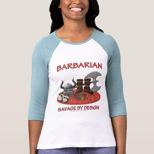 Bárbaro: Salvaje por diseño Camisas