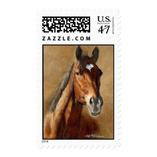"Barbaro""  Thotoughbred Art .45 Postage Stamps"