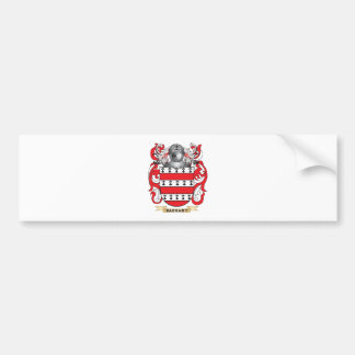 Barbary Coat of Arms (Family Crest) Bumper Sticker