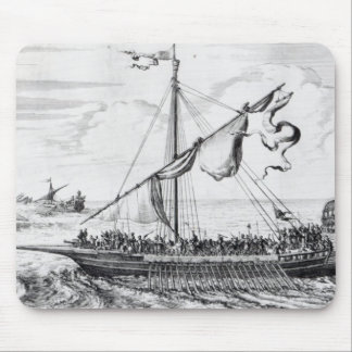Barbary Galleys Mouse Pad
