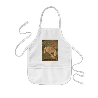 Barbary Lion-nap-007, Barbary Lion Kids' Apron