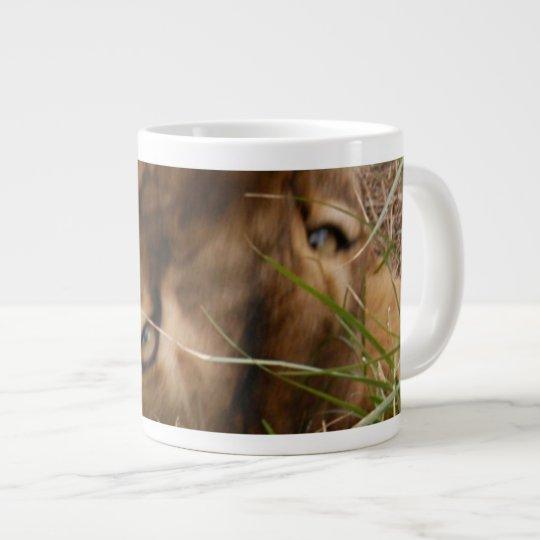 Barbary Lion-nap-020 Giant Coffee Mug