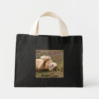 Barbary Lion-nap-022, león de Barbary Bolsa Tela Pequeña