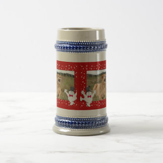Barbary Lion-Nap-c-140 copy Beer Stein