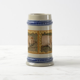 Barbary Lion-Nap-c-1 copy Beer Stein
