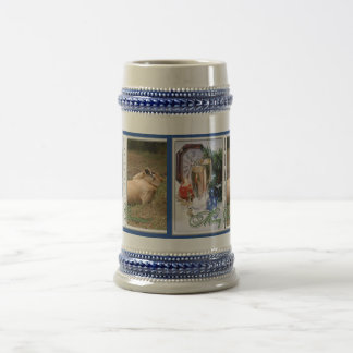 Barbary Lion-Nap-c-30 copy Beer Stein