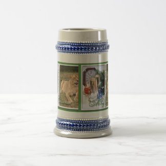 Barbary Lion-Nap-c-50 copy Beer Stein