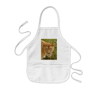 Barbary Lion-set-1-016, Barbary Lion Kids' Apron