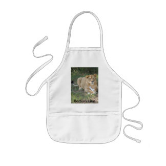 Barbary Lion-toy-007, Barbary Lion Kids' Apron