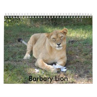 Barbary Lion-toy-010, Barbary Lion Calendar